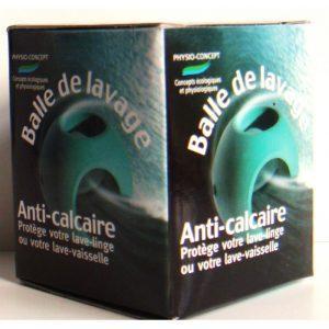 Balle de lavage anti-calcaire