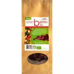 Cranberries séchées biologiques
