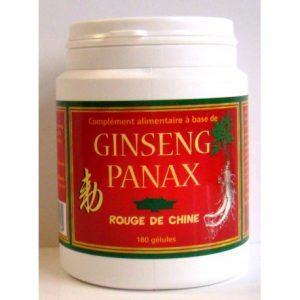 Ginseng Panax Rouge de Chine