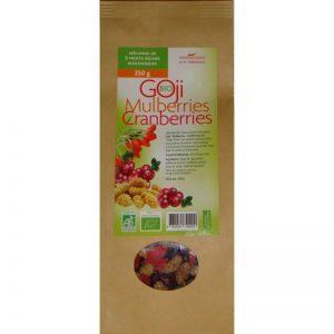 Mélange de 3 super fruits séchés Biologiques